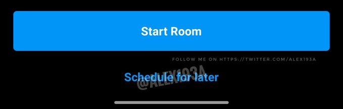 instagram room schedule for later