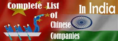 Chinese-Company-in-India-List